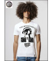 CAMISETA MONSTER DJ WHITE